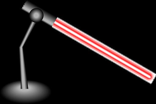 laser krzyżowy ze statywem