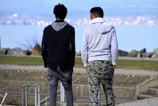 spodnie męskie joggery z suwakiem