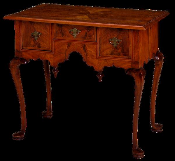 zdobiona konsola drewniana